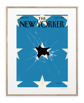 185 - PETER MENDELSUND - BROKEN FLAG WITH STARS