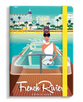 PRE-ORDER AVAILABLE APRIL 15 - Notebook Monsieur Z Riva