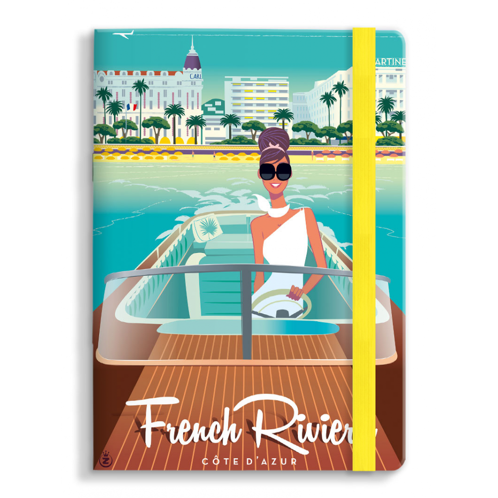 Carnet Monsieur Z French Riviera