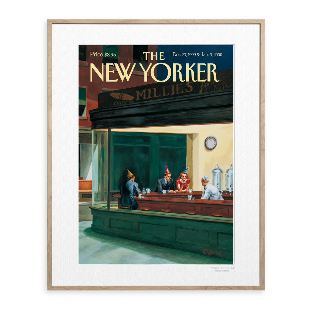 affiche the new yorker 47 smith bar. Black Bedroom Furniture Sets. Home Design Ideas