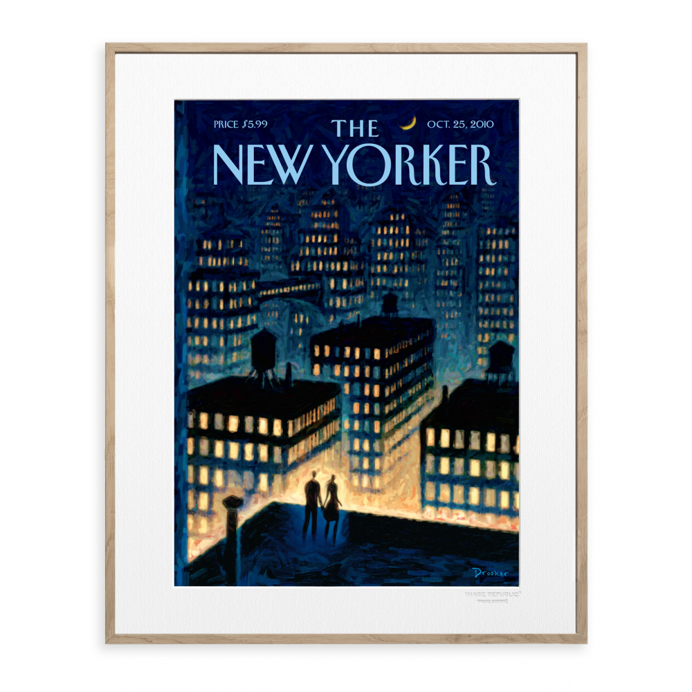 affiche the new yorker drooker twilight 2010. Black Bedroom Furniture Sets. Home Design Ideas