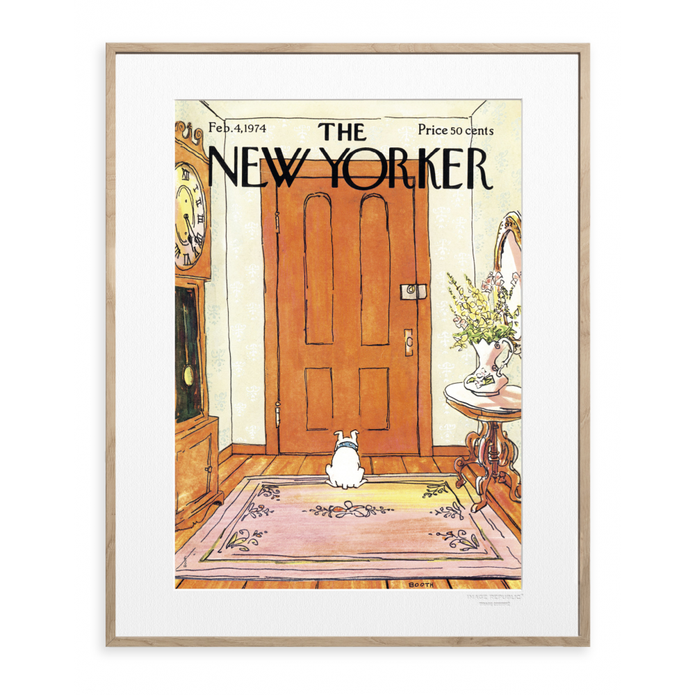 the new yorker poster dog