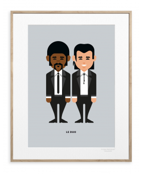 LE DUO PULP FICTION