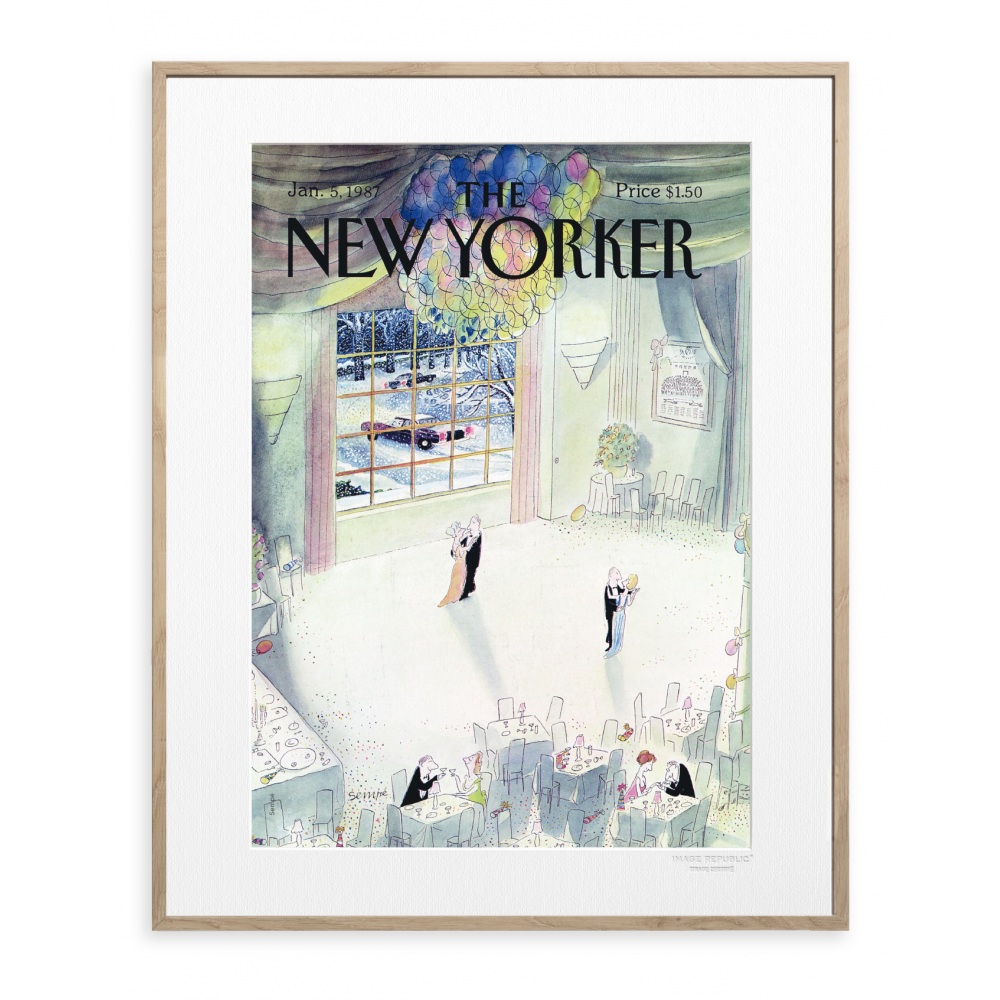 affiche the new yorker 08 sempe. Black Bedroom Furniture Sets. Home Design Ideas