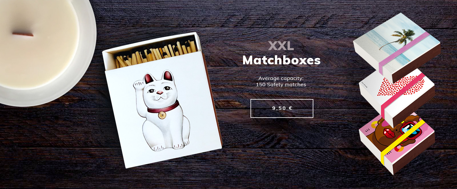 New - Matchboxes by Image Republic.